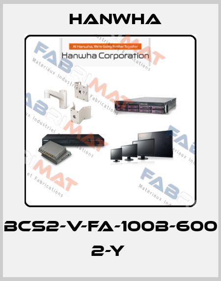 HANWHA-BCS2-V-FA-100B-600 2-Y  price