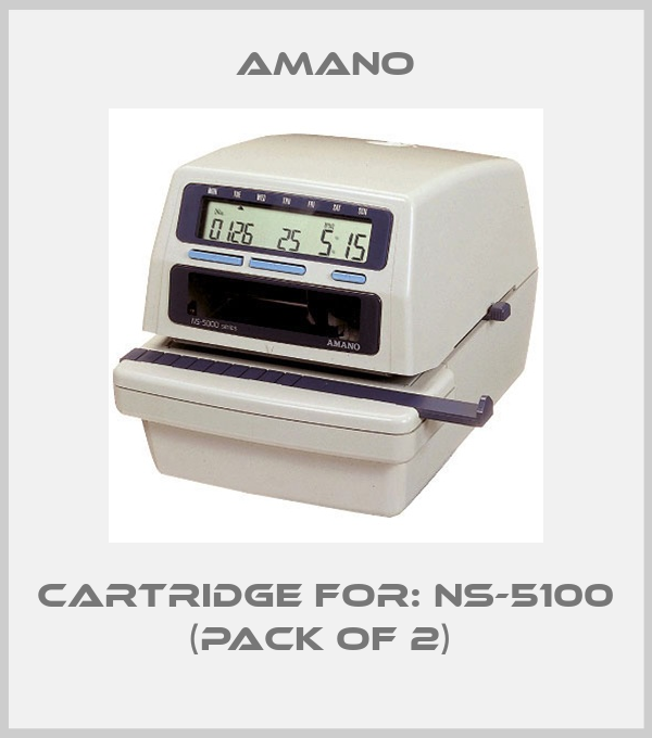 AMANO-Cartridge For: NS-5100 (pack of 2)  price