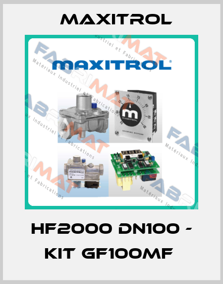 Maxitrol-HF2000 DN100 - KIT GF100MF  price