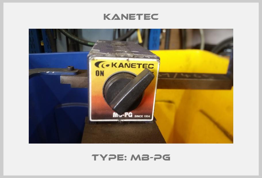 Kanetec-TYPE: MB-PG price