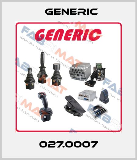 GENERIC-027.0007 price