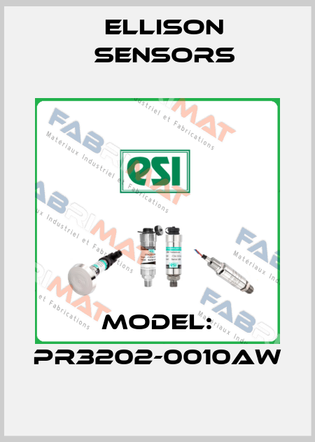 Ellison Sensors-Model: PR3202-0010AW price