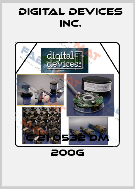 Digital Devices Inc.-C 21 0532 DM 200G price