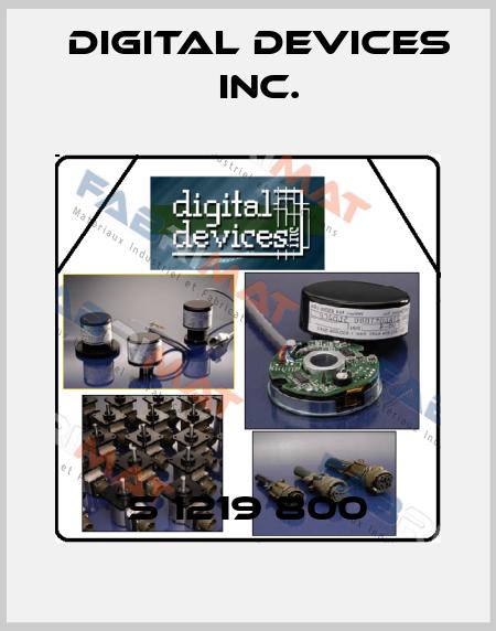 Digital Devices Inc.-S 1219 800 price