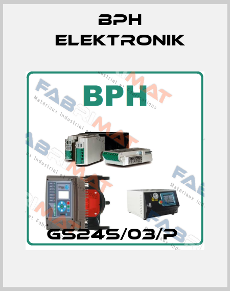BPH elektronik-GS24S/03/P  price