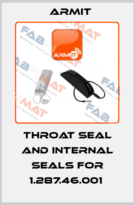 Armit-Throat Seal and internal Seals for 1.287.46.001  price