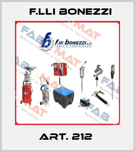 F.lli Bonezzi-Art. 212  price