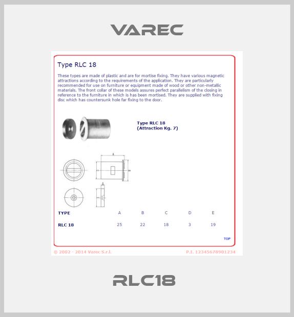 Varec-RLC18  price